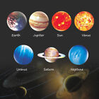 3D Planet Flourescent Luminous Wall Sticker Removable Glow In the Dark Art Decal
