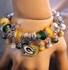 NFL Green Bay Packers Handmade Football Charm Bracelet Fan's Gift on eBay