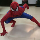 Superhero Spiderman Cosplay Costume Fancy Dress Jumpsuits Kids Men Set Festival