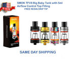 5ml SMOK TFV8 Glass Big Baby Beast Replacement Tank FREE Prince Black Resin tip