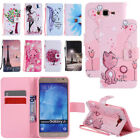 Leather Wallet Stand Magnetic Case Cover For Samsung Galaxy J7 Neo/J7 Core 2017