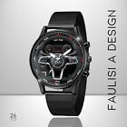 Orologio da polso AUDI sterzo RS SLINE watch montre stainless steering SPORT RS3