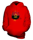ANGOLA FOOTBALL UNISEX HOODIE TOP GIFT WORLD CUP SPORT