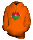 BURKINA FASO FOOTBALL UNISEX HOODIE TOP GIFT WORLD CUP SPORT
