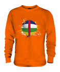 CENTRAL AFRICAN REPUBLIC FOOTBALL UNISEX SWEATER  TOP GIFT WORLD CUP SPORT