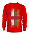 CENTRAL AFRICAN REPUBLIC FADED FLAG UNISEX SWEATER RÉPUBLIQUE CENTRAFRICAINE