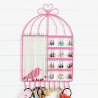 HK- Birdcage Shaped Necklace Jewelry Earrings Rack Stand for Jewelry Store Charm