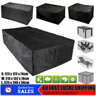 Waterproof Garden Furniture Table Cover Outdoor Patio Rain Snow Chair Shelter Au