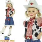 Cowgirl Sweetie Western Wild West Book Day Childs Kids Girls Fancy Dress Costume