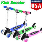 Kick Scooter for Kids 2-16 Age Boys & Girls - Deluxe 3 Wheel Glider Foot Scooter