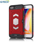 Luxury Shockproof Heavy Duty Card Slot Armor Case Cover For Apple iPhone Models  <br/> For iPhone 6 / 7 / 8 Plus / X / Solid Grip # CA Seller