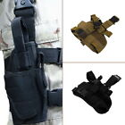 Practical Airsoft Military Tactical Pistol Drop Leg Thigh Holster Pouch D120