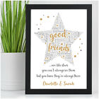 PERSONALISED Gifts for Best Friend Birthday Presents for Her She BFF Friendship