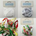 VALUE PACK 10*1m Packs of Christmas Ribbon Metallic Satin Organza BUY 1 2pk