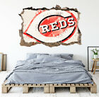 Cincinnati Reds Wall Art Decal MLB Baseball Team 3D Smashed Wall Decor WL76 on Ebay