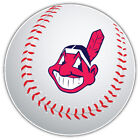 Cleveland Indians Head MLB Logo Ball Car Bumper Sticker Decal- 9'', 12'' or 14'' on Ebay