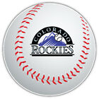 Colorado Rockies MLB Logo Ball Car Bumper Sticker Decal  - 9'', 12'' or 14'' on Ebay