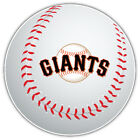 San Francisco Giants MLB Logo Ball Car Bumper Sticker Decal  - 9'', 12'' or 14'' on Ebay