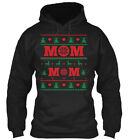 Mom Ugly Christmas Sweater Gildan Hoodie Sweatshirt