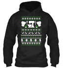 Fun Christmas Sweater Baking Ugly Gildan Hoodie Gildan Hoodie Sweatshirt