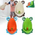 Kids Baby Toddler Boy Frog Potty Urinal Pee Toilet Travel Home Training cu