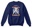 You Cant Scare Me. I Was Born In Angola Ks Hanes Unisex Crewneck Sweatshirt