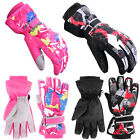 Winter Kids Ski Gloves Snow Warm Snowboard Waterproof Boys Girls Out