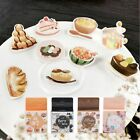 New Decoration Label Diary Scrapbooking Paper Stickers Flower Cat Cake Cartoon