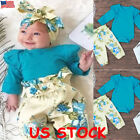 Kyпить Newborn Infant Todder Baby Girl Boy Romper Tops Jumpsuit Pants Outfit Clothes US на еВаy.соm