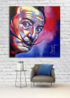 Celebrity Salvador Dali Pop Art Canvas Print