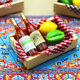 Magnet  Beer Grocery  1:12 dollhouse miniature  fruit Box Mini wine bottles