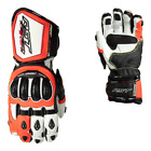 RST 2092 Tractech Evo R III CE Mens Motorcycle Leather Glove In Red