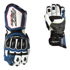 RST 2092 Tractech Evo R III CE Mens Motorcycle Leather Glove In Blue