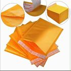 Padded Bubble Postal Bags Envelopes Mail Bags All Sizes Yellow Brown 220x320mm
