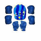 Boys Girls Kids Safety Helmet & Knee & Elbow Pad Set For Cycling Skate Bike One