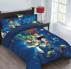 Внешний вид - Disney Pixar Toy Story Woody Comforter+Fitted Sheet+PillowCase Set Twin/Full
