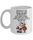 Social Worker Christmas Gift Santa Knows Naughty and Nice Coffee Mug for Best