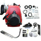4 Stroke 49CC Gas Petrol Motorized Bicycle Bike Engine Motor Kit Belt Or Chain