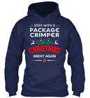 Comfortable Package Crimper - Start With A Make Gildan Hoodie Sweatshirt