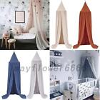 Kid/Baby Bed Canopy Bedcover Mosquito Net Curtain Bedding Round Dome Tent image