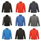 Regatta Mens Uproar Soft Shell Windproof Fullzip Training Jacket Warm Coat S-3XL