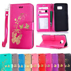 For Samsung Galaxy Note 5 4 3 Litchi Stand Card Wallet Leather Flip Case Cover