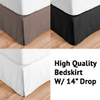MiCasa New REGULAR Microfiber Pleated Bed Skirt in all Sizes image