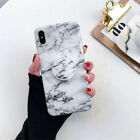 Marble Phone Back Case Cover For iPhone11 Pro Max XS XR 8 7 6 Plus Put Up Holder