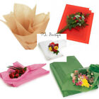 """FLORAL WAXED Tissue Paper Bouquet Wrapping 24""""x36"""" X-Large Sheets YOUR CHOICE!"""