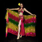belly dance veil LED dancing cosplay prop cape shawl for photography worship