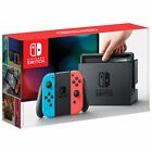 Nintendo Switch - 32GB Gray Console with Neon Red/Blue JoyCon Priority Mail Ship