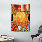 Steampunk Tapestry Retro Gear Technology Print Wall Hanging Decor