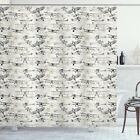 Airplane Shower Curtain Old School Planes Print for Bathroom