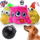 Dog Toys Interactive Plush Chaser Jumping Automatic Giggle Ball Shake Squeak Toy